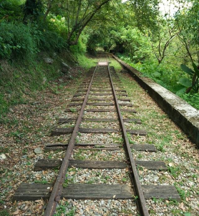 Unused railway line