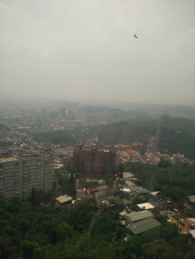 View of Taipei from Gondola