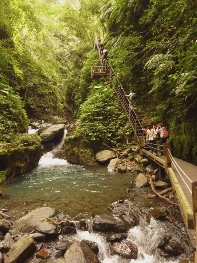 Jiaoxi Linmeishipan trail