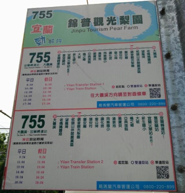 Jinpu Orchard Fruit Farm bus schedule