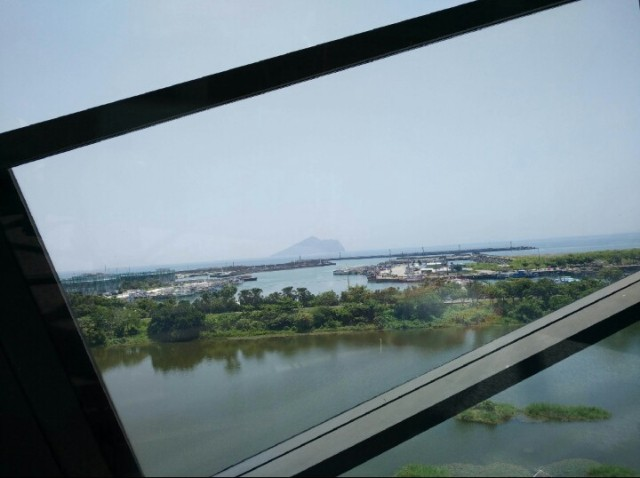 Turtle Island from Lanyang Museum