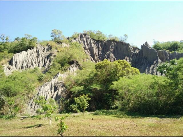 Liji Badlands landscape