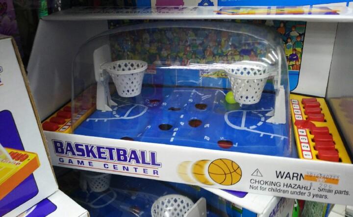 Taipei toy shop basketball