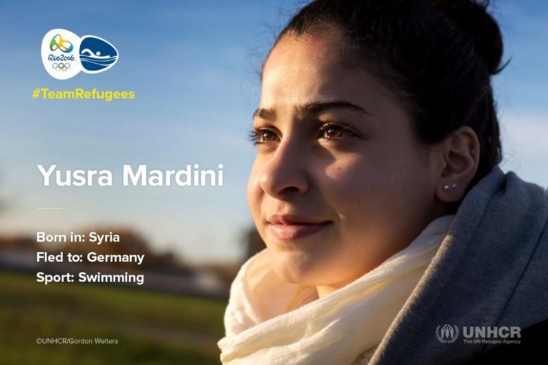 Yusra Mardini refugee Olympics