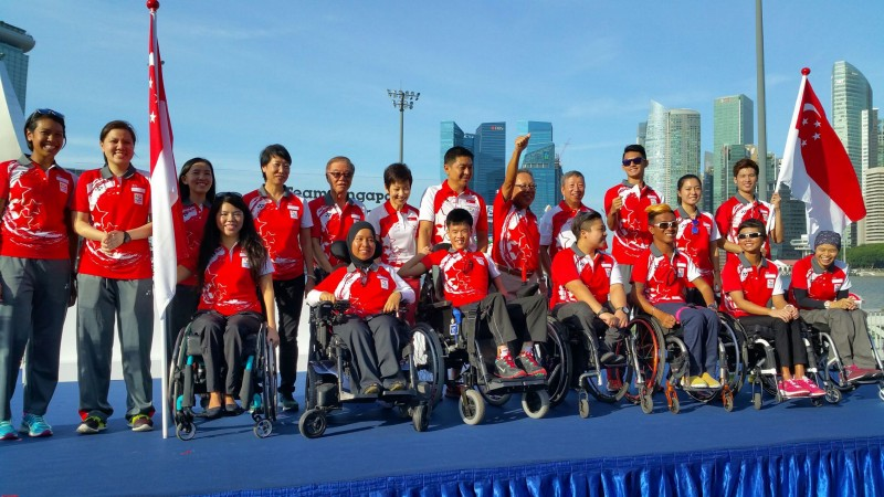 Olympics and Paralympics Team Singapore 2016