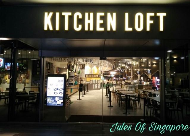 NTUC Foodfare Kitchen Loft