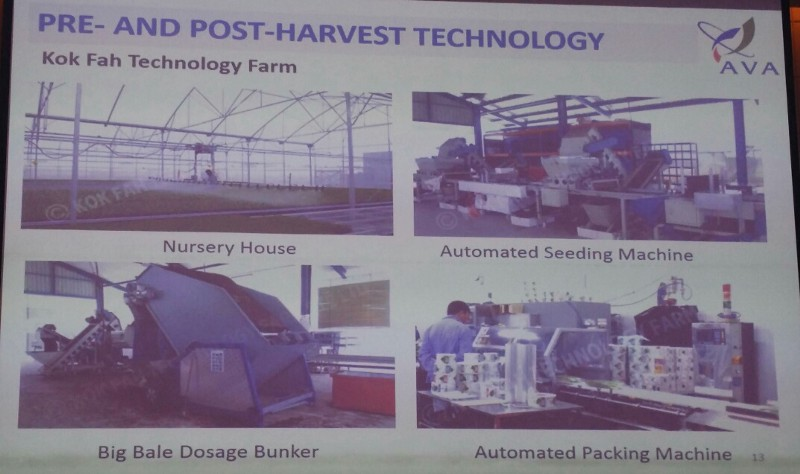 Kok Fah Technology Farm harvest technology productivity