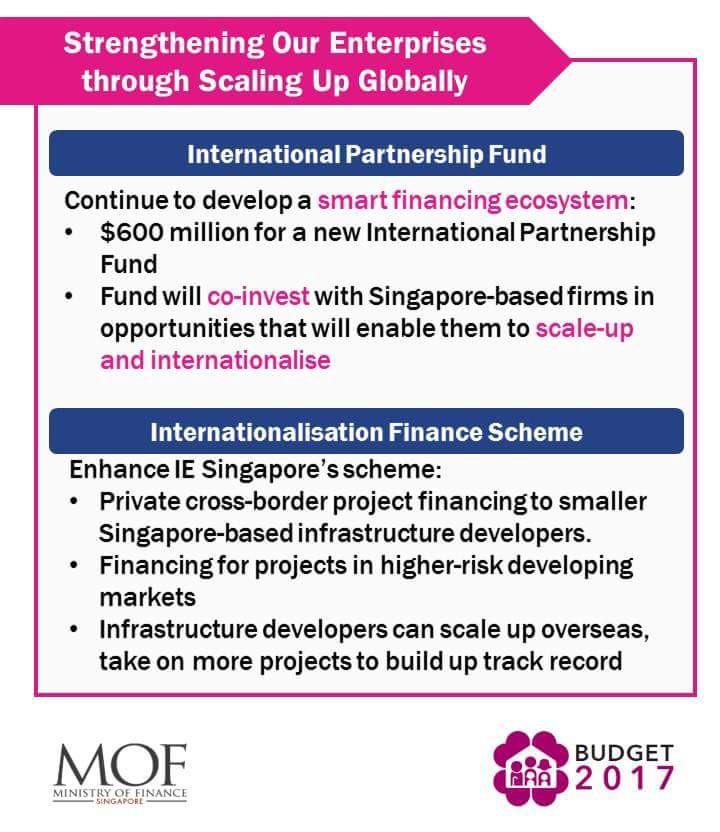 Budget 2017 international Partnership fund