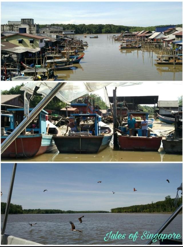 Port weld Kuala Sepetang River cruise