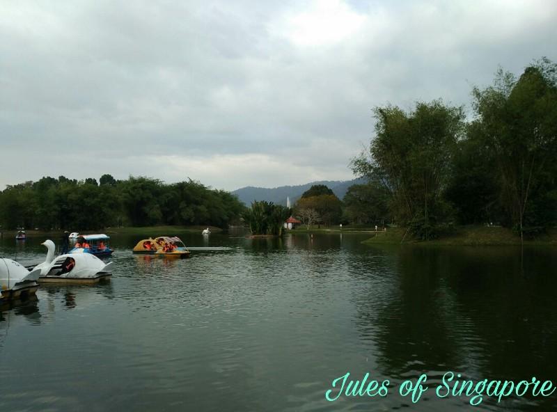 Taiping lake boat ride
