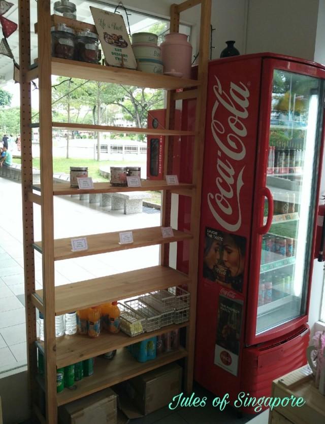 Naomi Kitchen café near Serangoon NEX Mall drink
