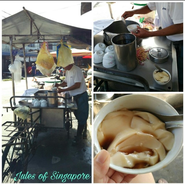 Port weld Kuala Sepetang damn good tauhuay beancurd dessert