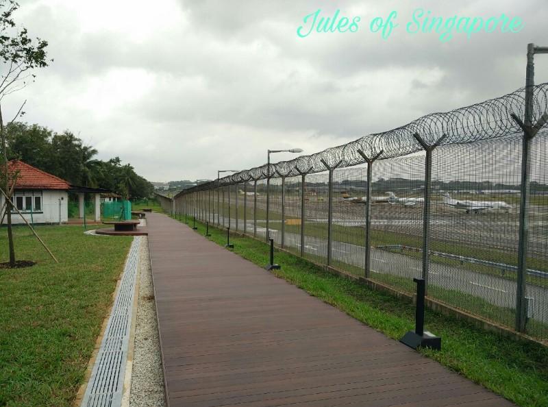 Seletar Aerospace Park The Oval boardwalk