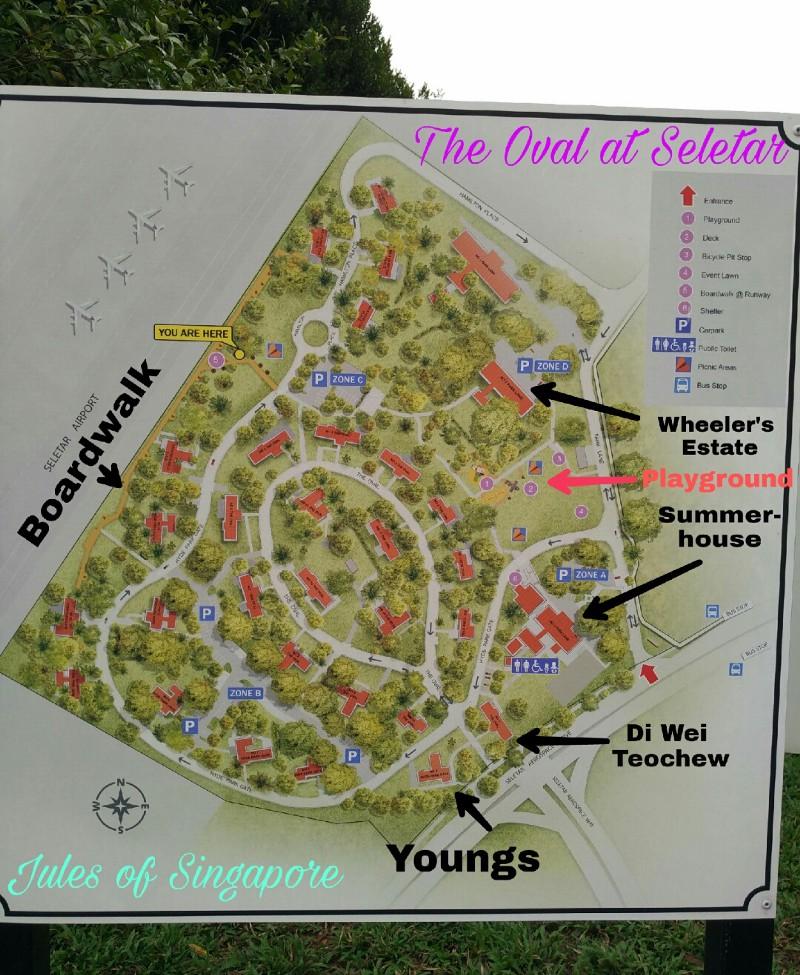 Seletar Aerospace Park The Oval map